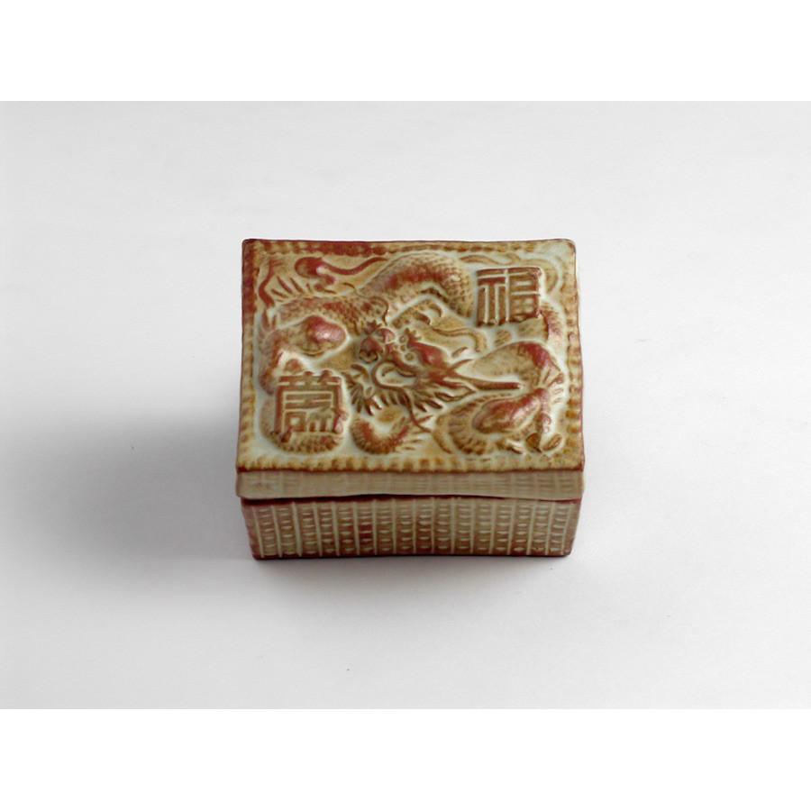 Šperkovnice hranatá čínský motiv