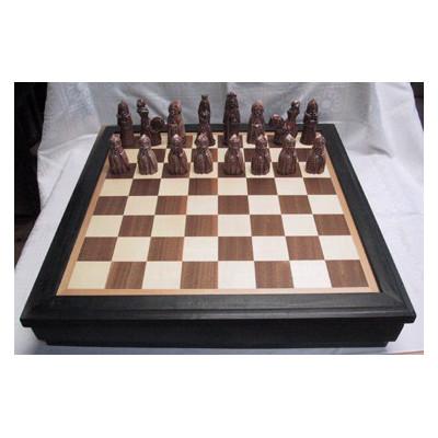 Šachový komplet se šachovnicí