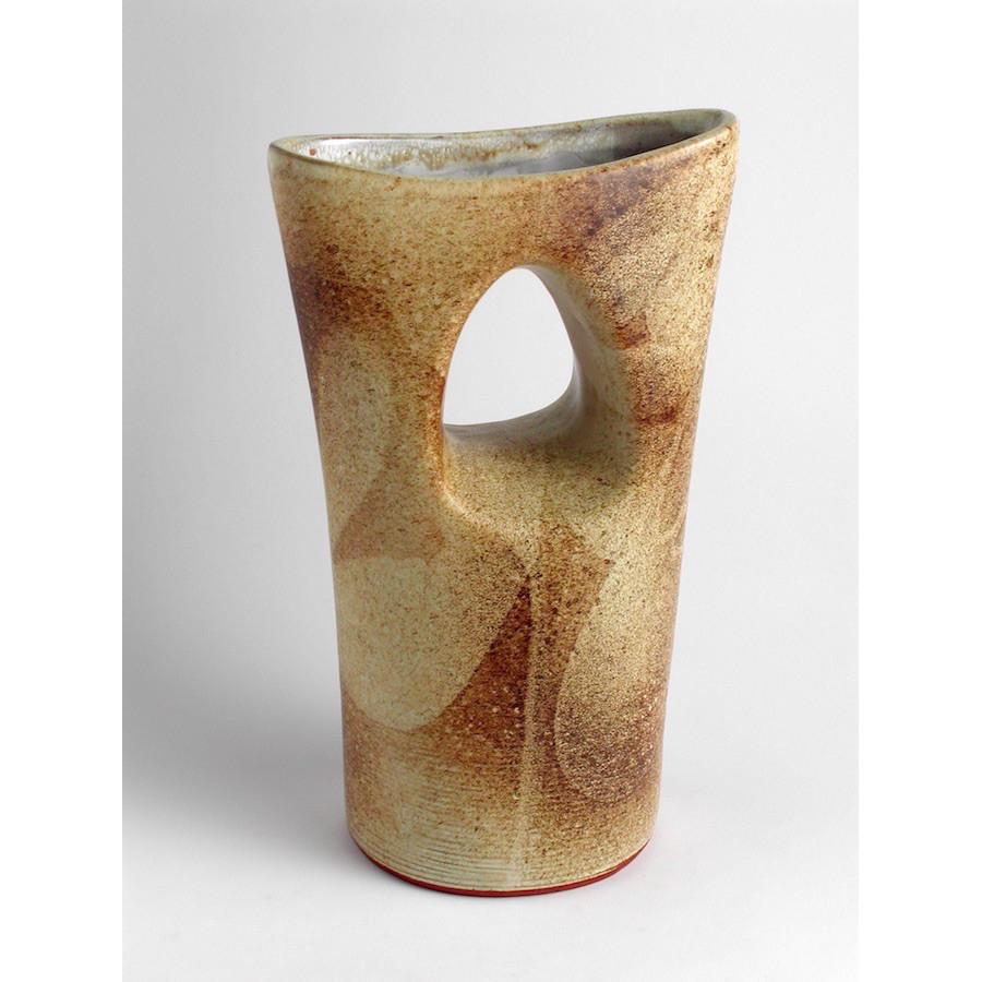 Váza dvouhrdlá, široká