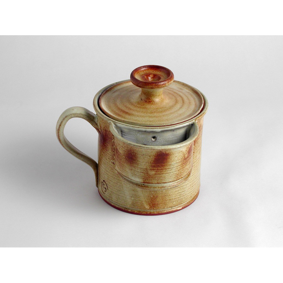 Hrnek byliňák s kapsou na sypaný čaj