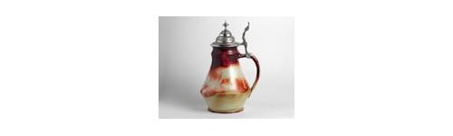 Keramika,keramické,likérka,džbán,párty miska,fousáč,Praha,korbel,holba,půllitr,pohár pohárek,svařáček