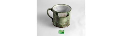 Hrnky,keramika,keramické,sluneční hrnek,hrnek s motivem,dvoják,ducháček,tvarovaný,zdobený,hrneček,půllitrák,šapo,fousáč