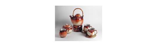 čajové soupravy,keramika,keramické,sety,mléčenky,cukřenky a ohřívátka