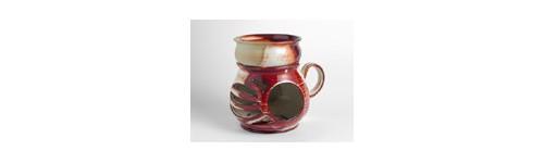 Aromalampy,keramika,keramické,kahánky a vonné svíčky